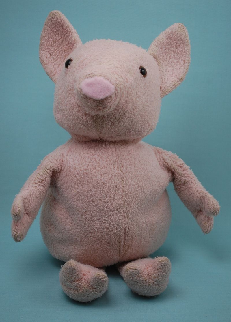 Fixed pig stuffed animal