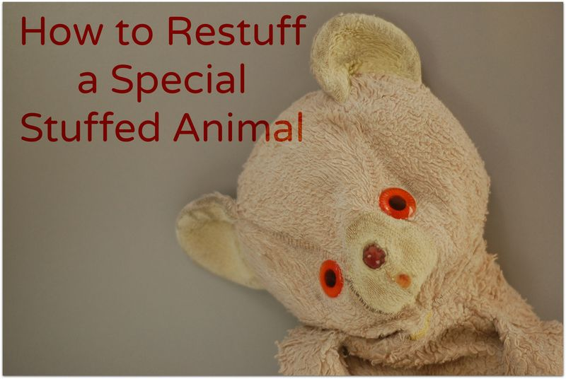 Restuff a Stuffed Animal