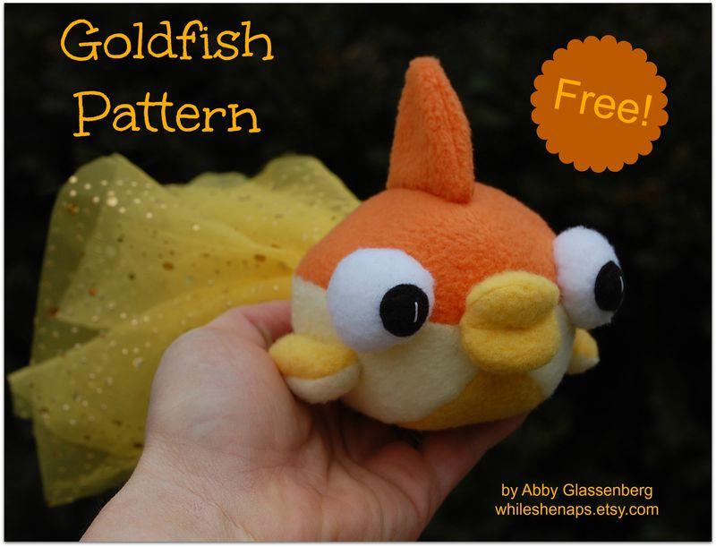Goldfish Sewing Pattern