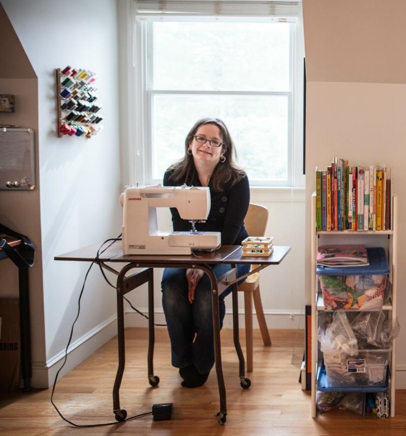Abby in the Studio