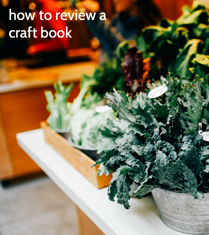 review a craft book