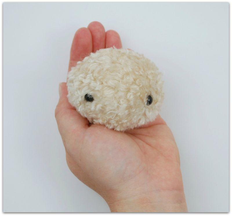 Stuffed Head with Eyes
