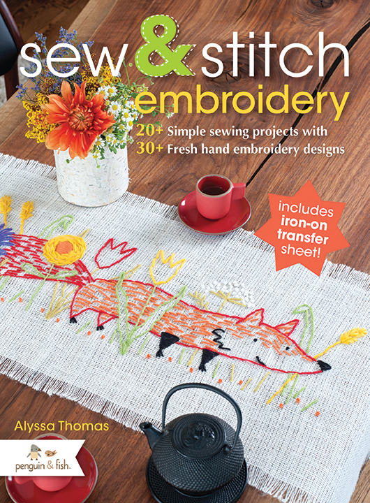 Book Review Sew Stitch Embroidery By Alyssa Thomas Whileshenaps