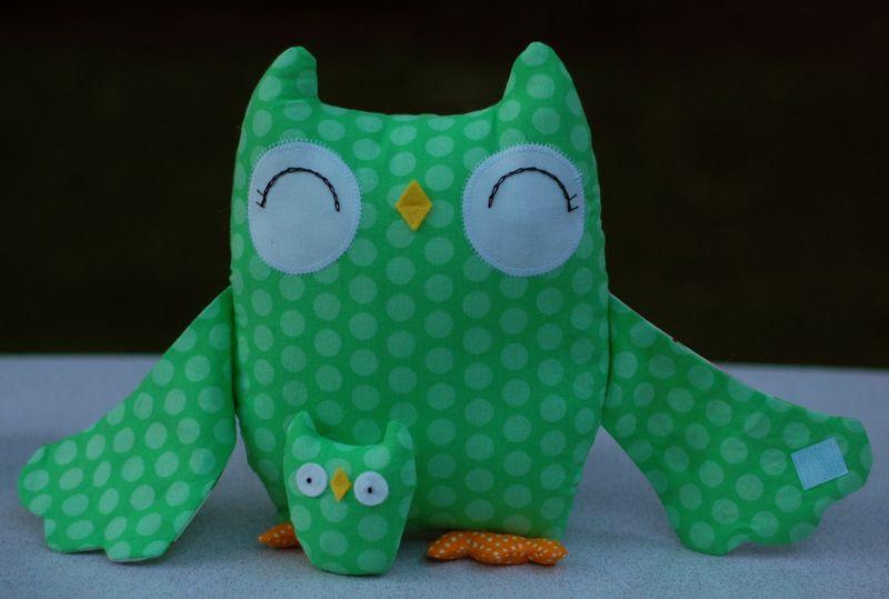 Green Stella the Owl