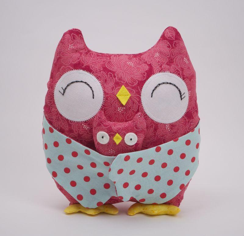 White Stella the Owl