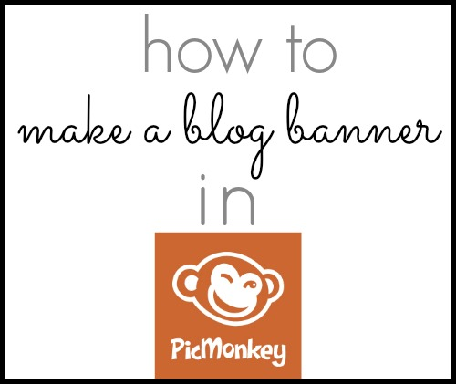 how to make a facebook banner with picmonkey