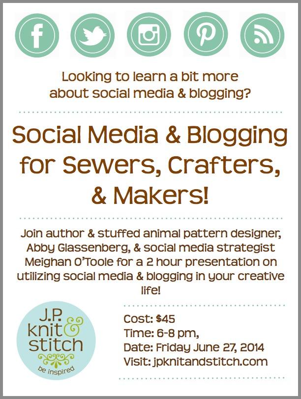 JP Knit & Stitch Flyer