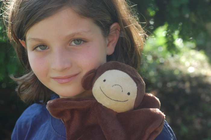 Child with Monkey Lovey Dovey