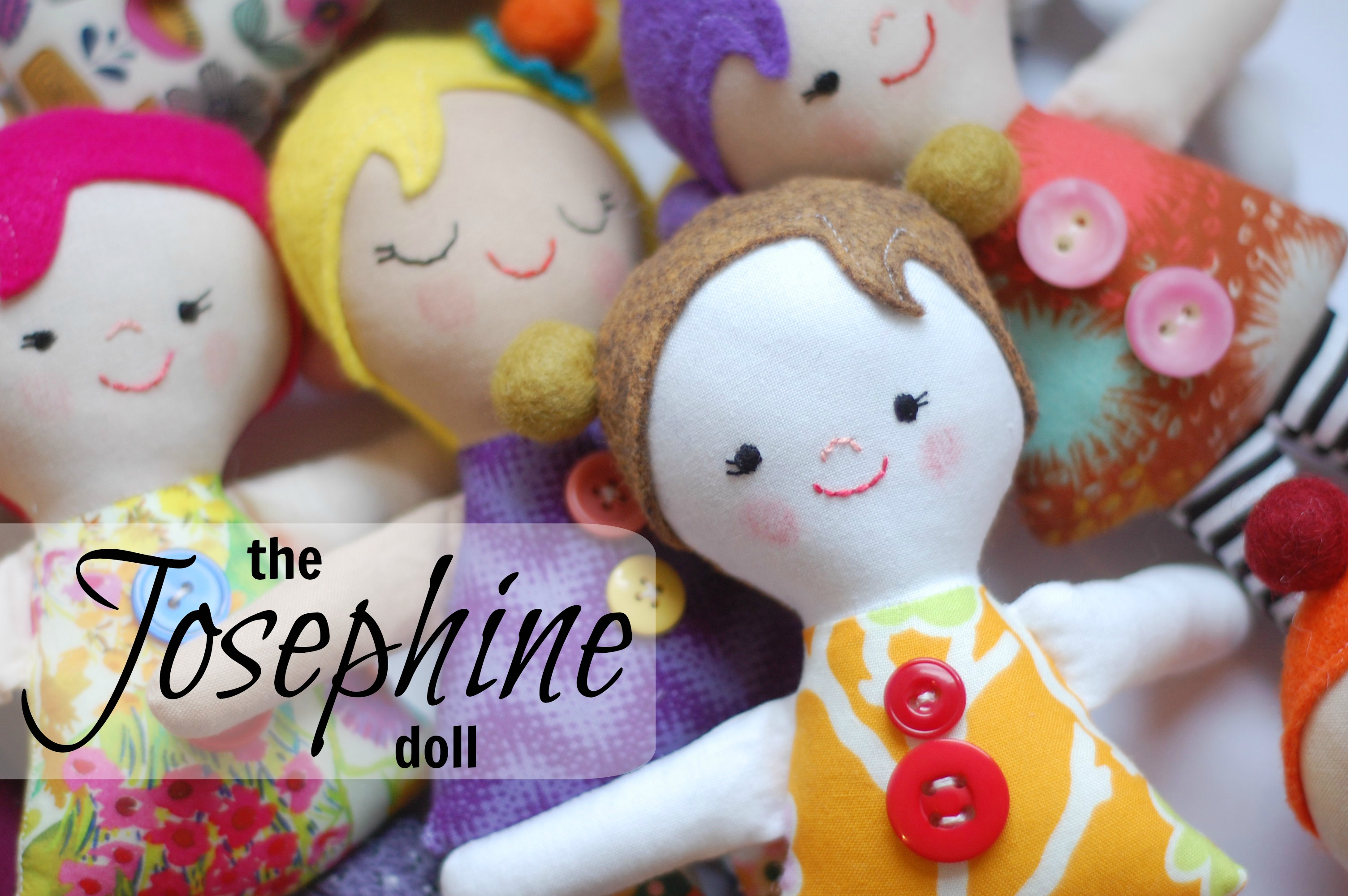 Sewing Patterns Dolls