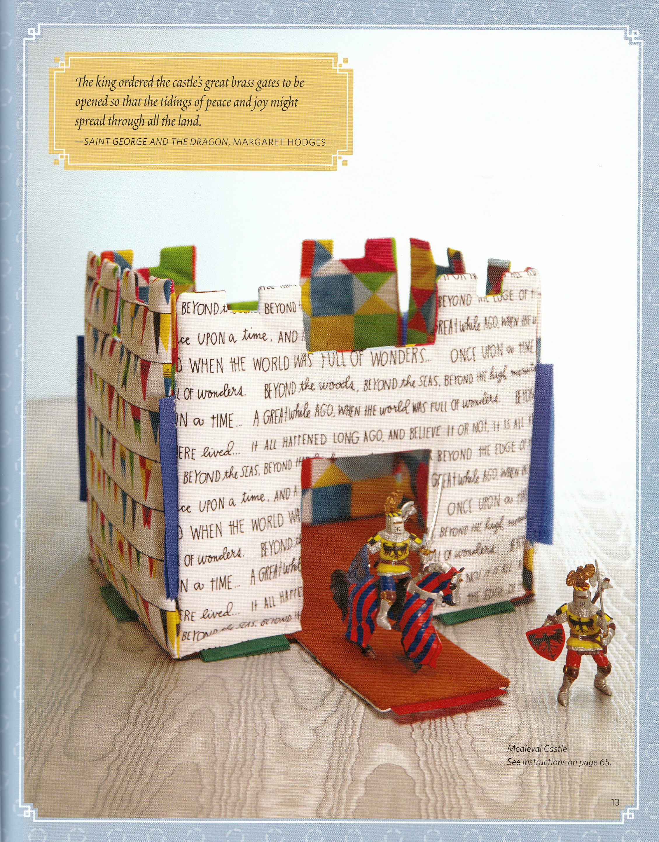 Book Review Fairy Tale Sewing By Heidi Boyd Page Not Found Beyond The Beauty There Are Also Soft Toys That Arent Stuffed Animals Including A Neat Medieval Castle Sleeping Quilt And Rapunzel Jack