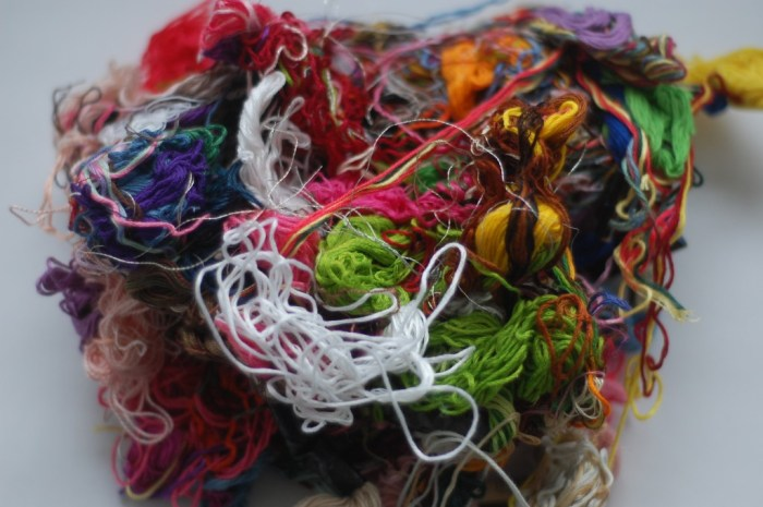 tangled embroidery floss