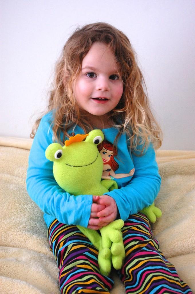 Cuddly Frog