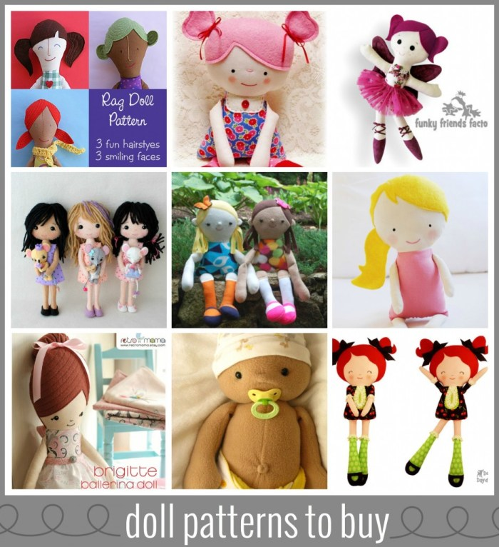 Doll patterns to buy