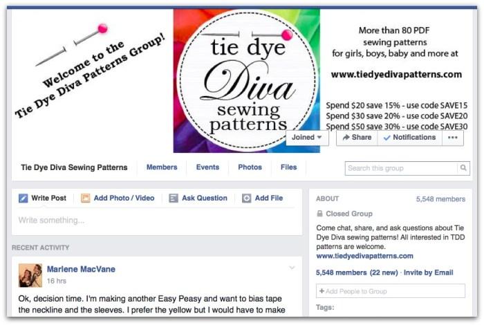 Tie Dye Diva Group