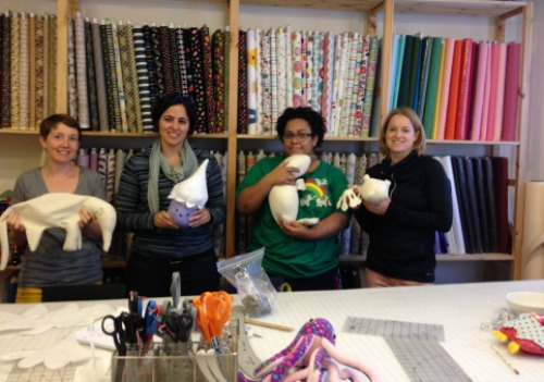 Design Your Own Softies Class