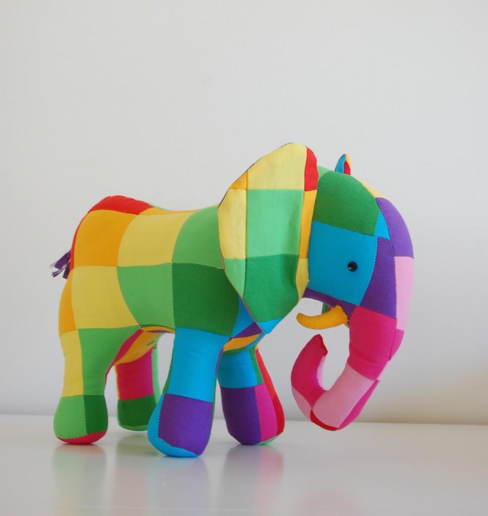 patchwork elephant