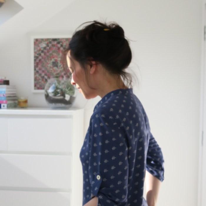 Heather Bailey rayon blouse