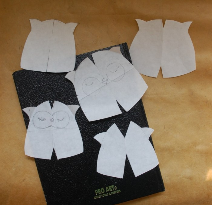 Owl pattern prototypes