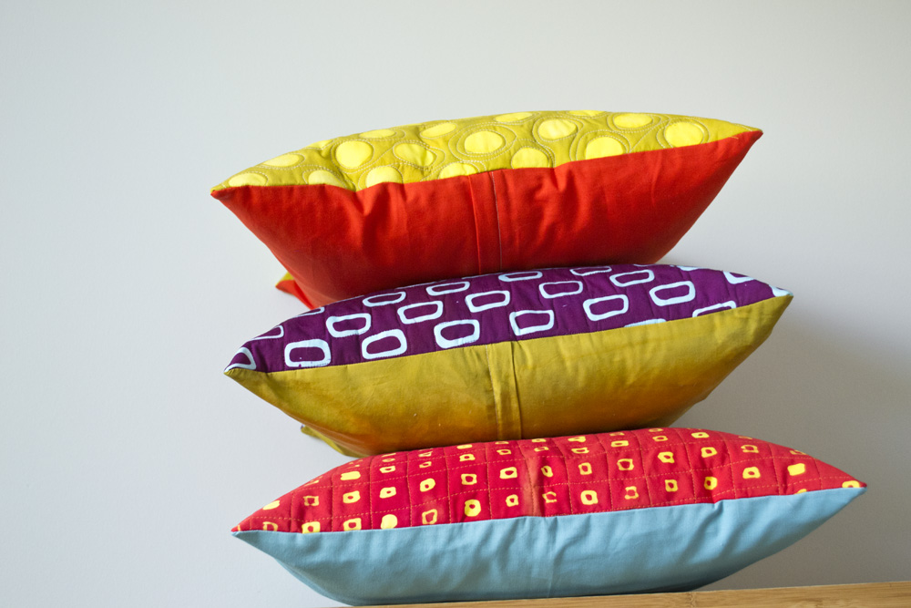 Pillows by Malka Dubrawsky
