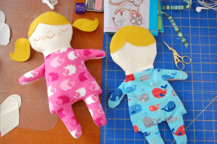 Asleep dolls in progress