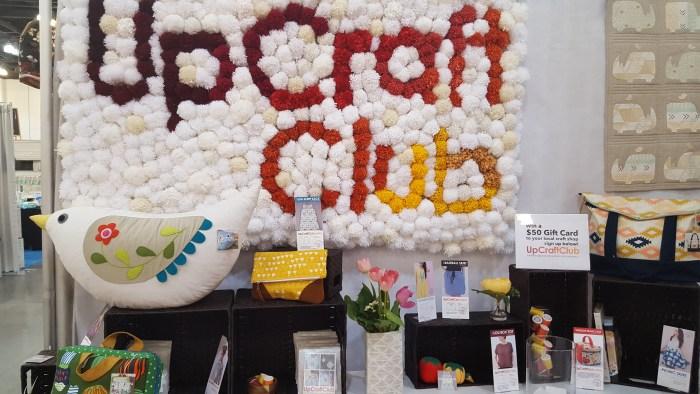 upcraft club pompom sign