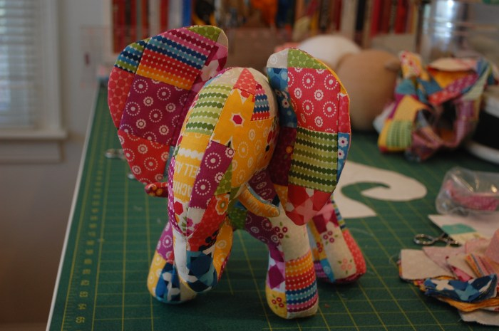 Elephant in progress