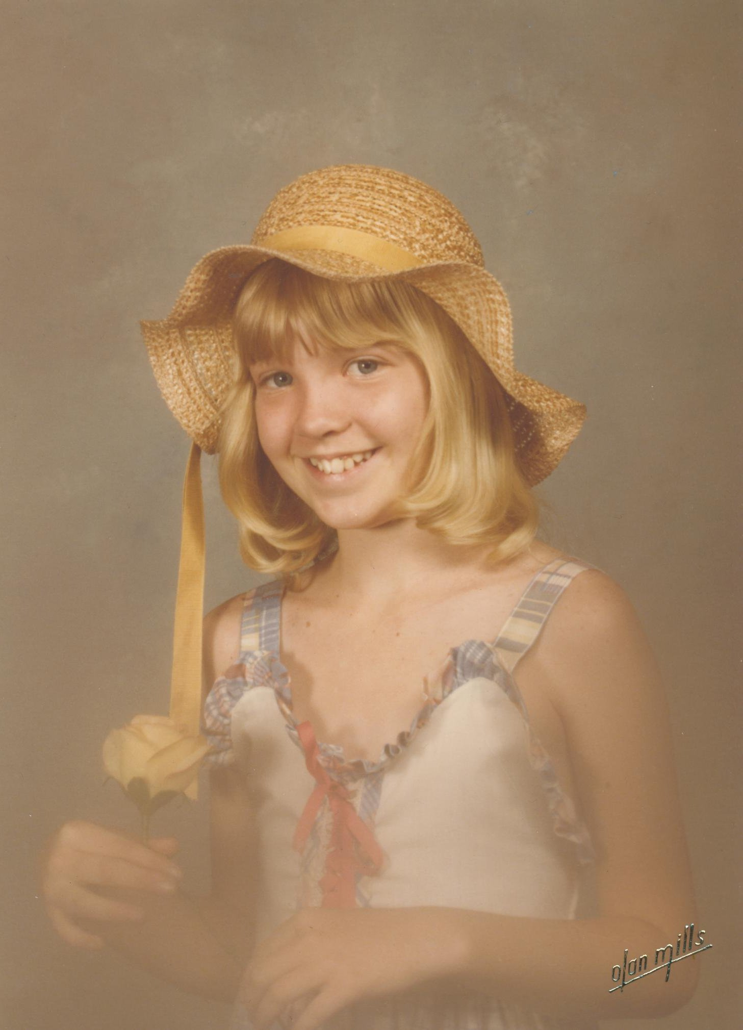 Wendi Gratz in 1979