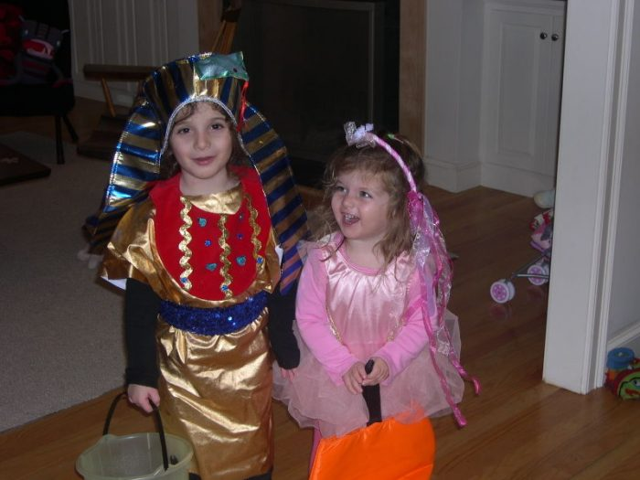Pharaoh and a fairy
