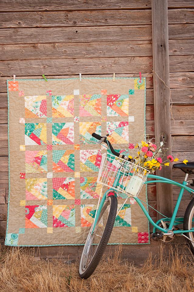 Crazed Quilt by Pamela Morgan