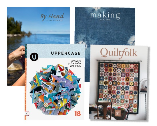 indie craft magazines are making a resurgence