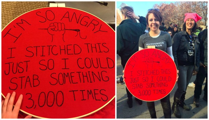 Shannon Downey Women's March