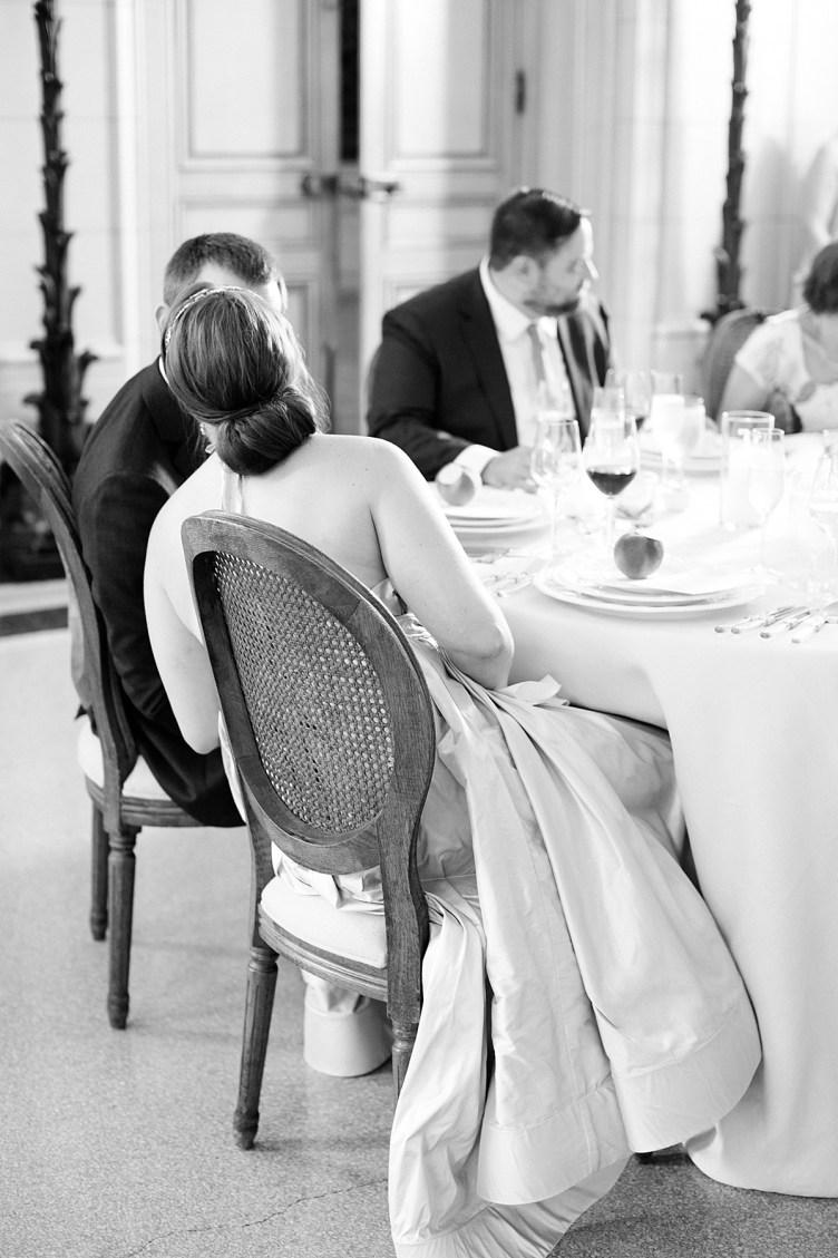 Washington DC microwedding at Meridian House | Abby Grace Photography