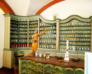 Pharmacy at the Castle of Heidelberg