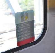 On the Métro.