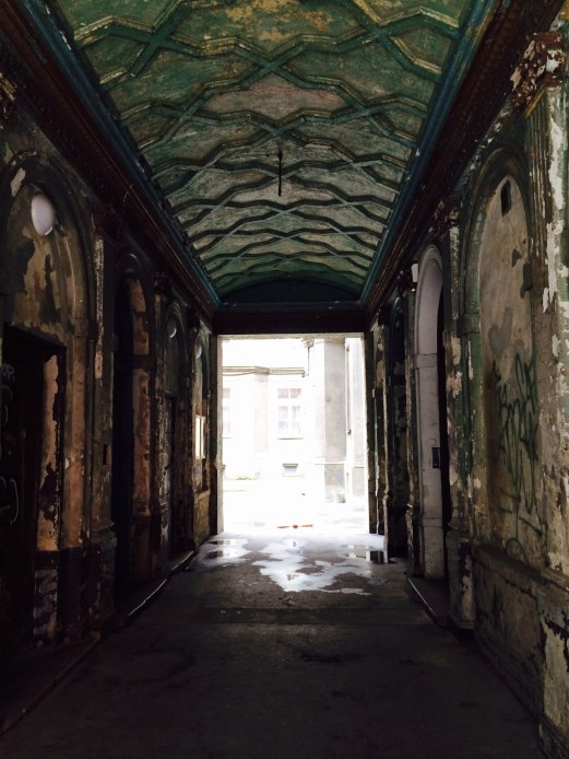Hall way of the hostel