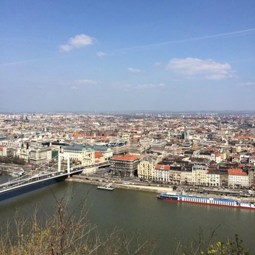 Budapest from Gellért Hill
