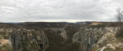 Caves from top