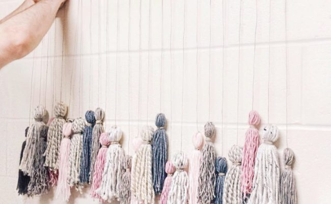 Diy Tassel Wall Hanging Abby Saylor Armbruster