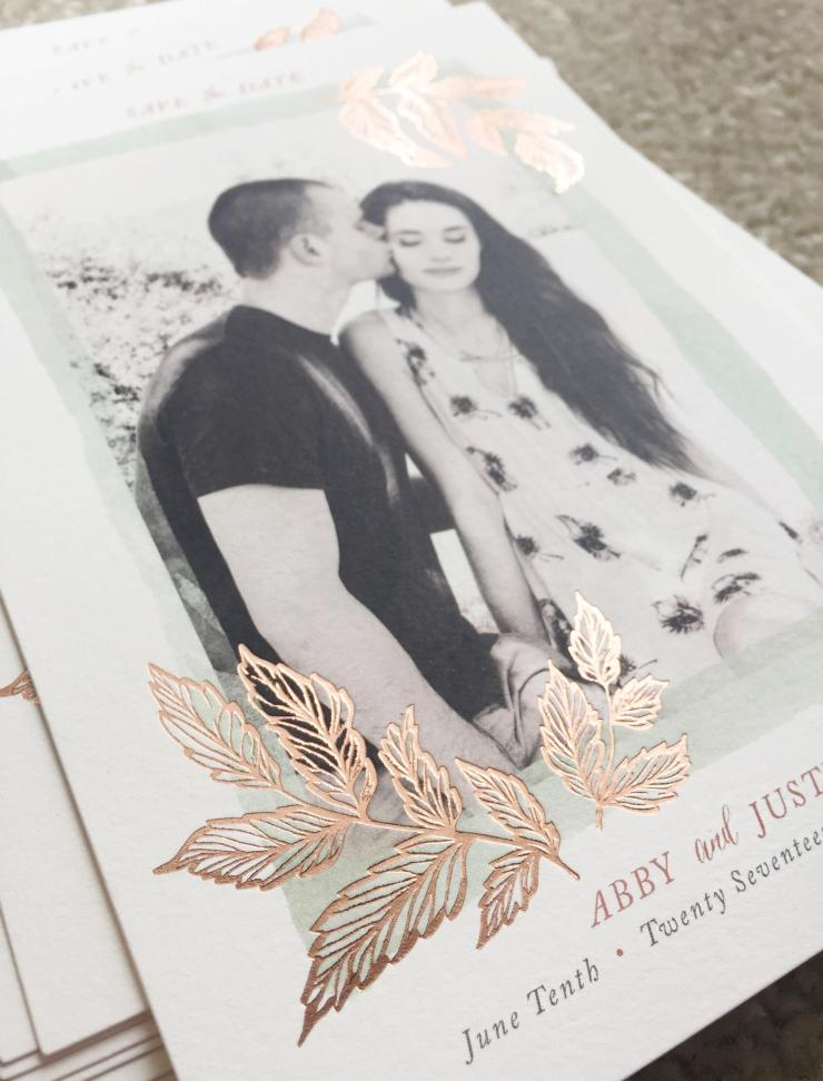minted save the dates review