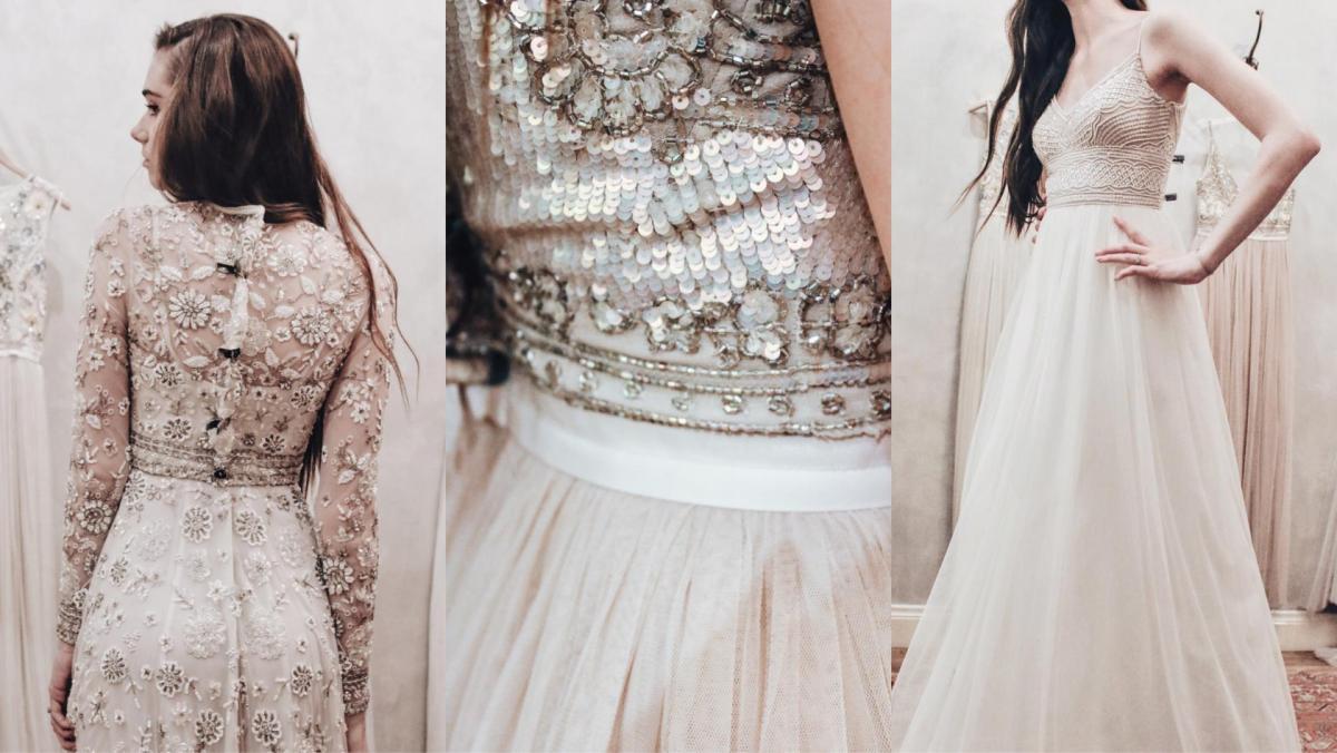 Shopping For My Wedding Dress At BHLDN