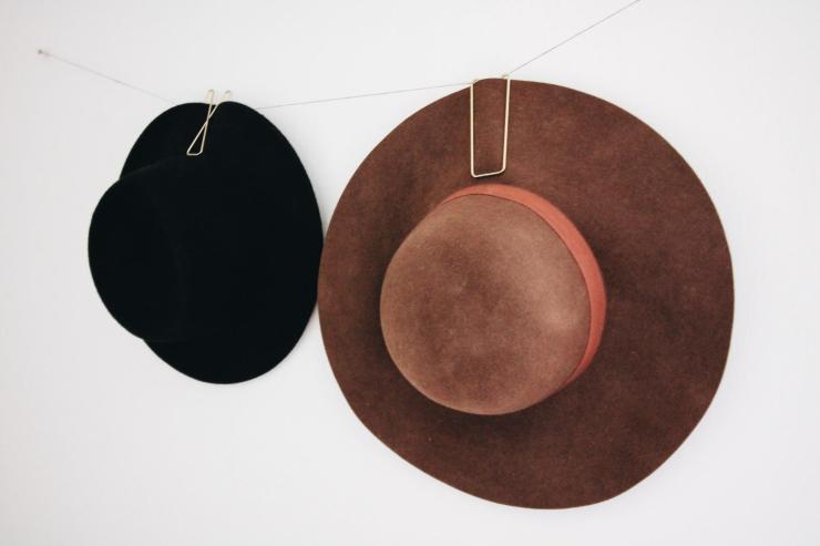 hanging hat display
