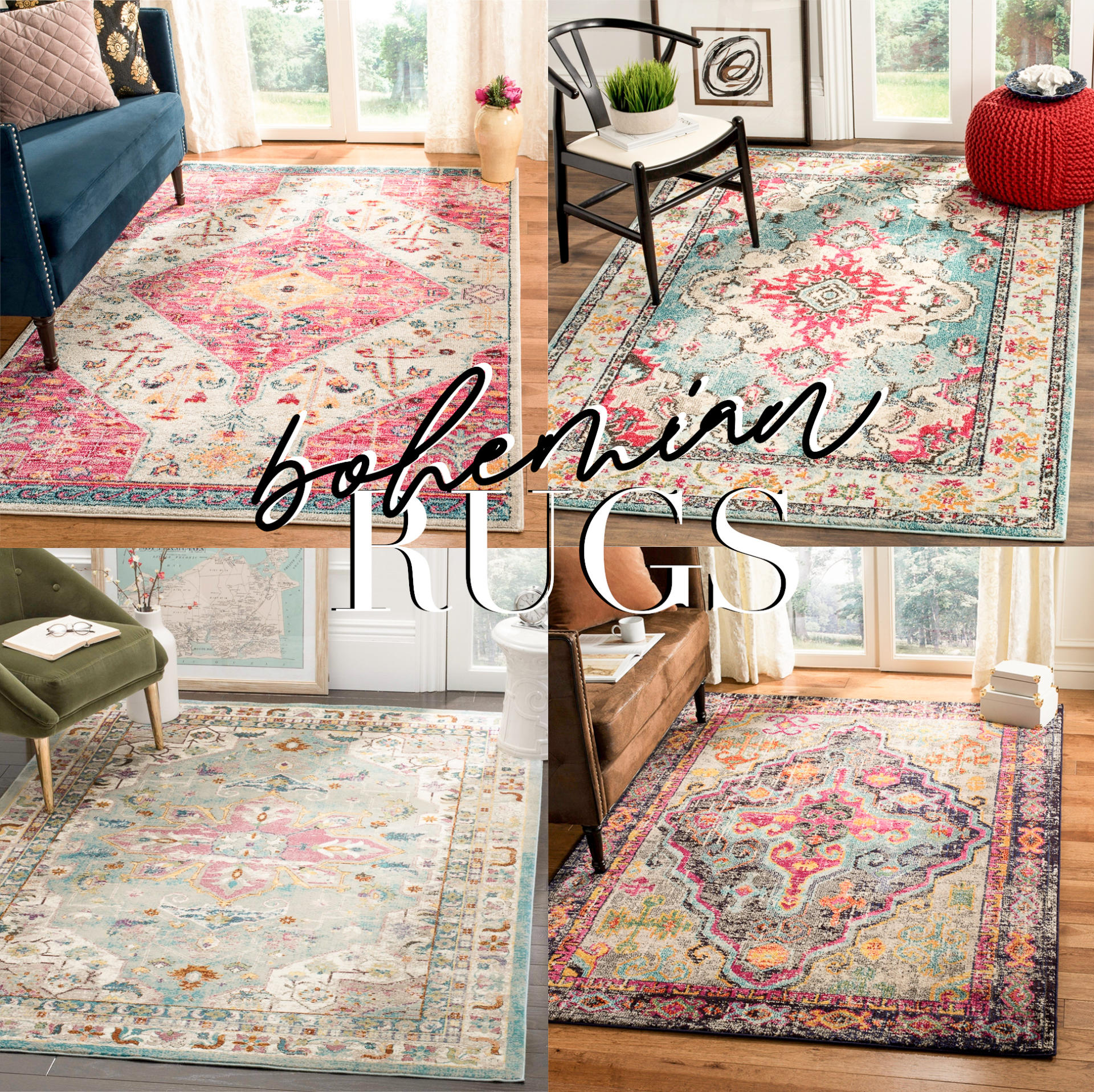 Large Bohemian Area Rugs Under 300 Abby Saylor Armbruster