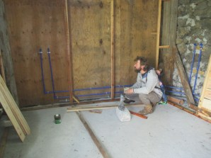 PPR plumbing in our bathroom