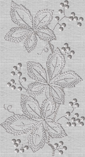 ABC Designs Sweet Gum Whitework Machine Embroidery Designs