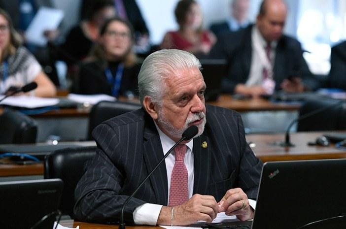 O relator do texto, senador Jaques Wagner (PT-BA), acatou mudanças que já haviam sido aprovadas pela Comissão de Meio Ambiente (CMA). Foto: Edilson Rodrigues/Agência Senado