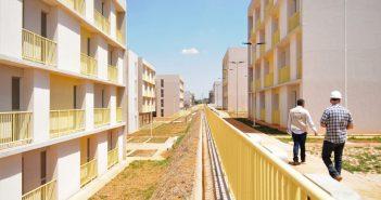 Apartamentos construídos pelo governo para desalojados têm ampla infraestrutura e acessibilidade   Foto: Lúcio Bernardo Jr. / Agência Brasília