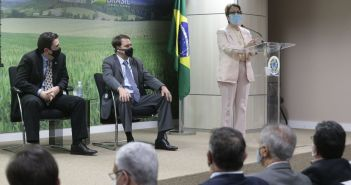 Lançamento do Programa Titula Brasil. Foto: Divulgação/ Ministério da Agricultura
