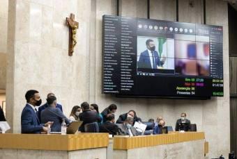 Sessão plenária de sábado (17) na Câmara Municipal de São Paulo. Imagem: Rede Câmara