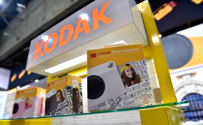 Kodak S Stock Soars Nearly 300 And Trips More Than A