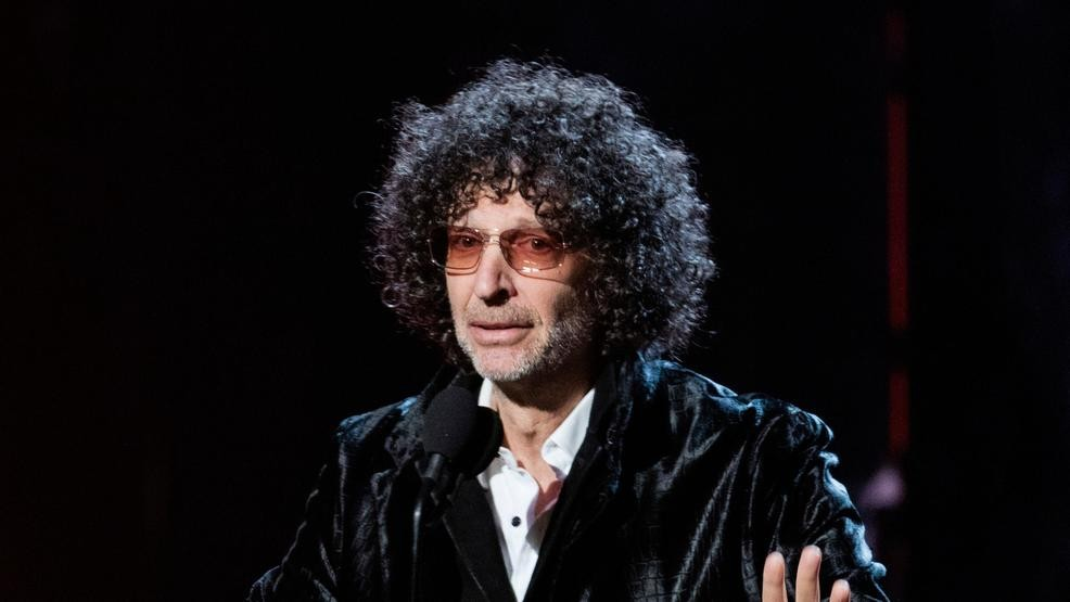File In This April 14 2018 File Photo Howard Stern Speaks At The 2018 Rock And Roll Hall Of Fame Induction Ceremony In Cleveland